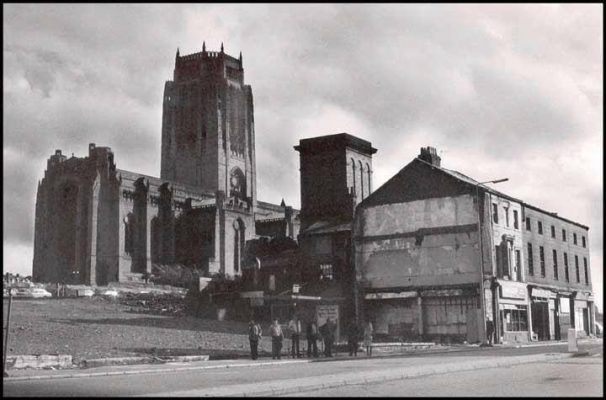 Anglican Cathedral, Old Shops & Homes