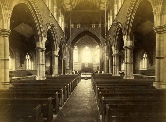 Inside All Saints - Bentley Rd, Toxteth