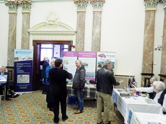 The annualWirral History and Heritage Fair held at the Birkenhead Town Hall