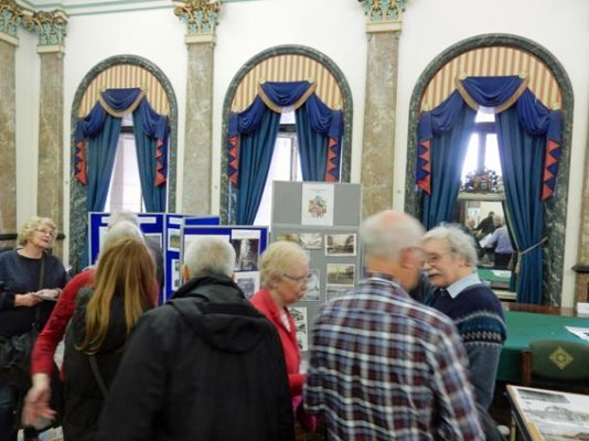 The annualWirral History and Heritage Fair held at the Birkenhead Town Hall 1