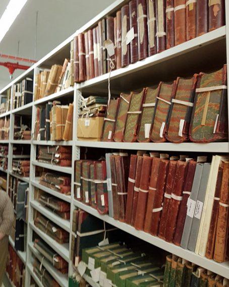 Archive record storage