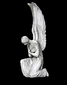 Angel with Crossed Arms