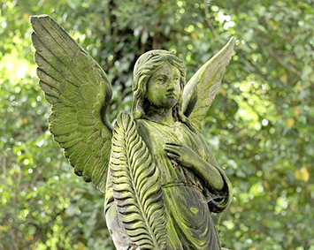 Angel with a Palm Frond 1